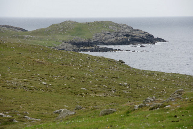 Coastline of West Burra