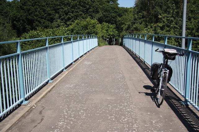 Parkway footbridge