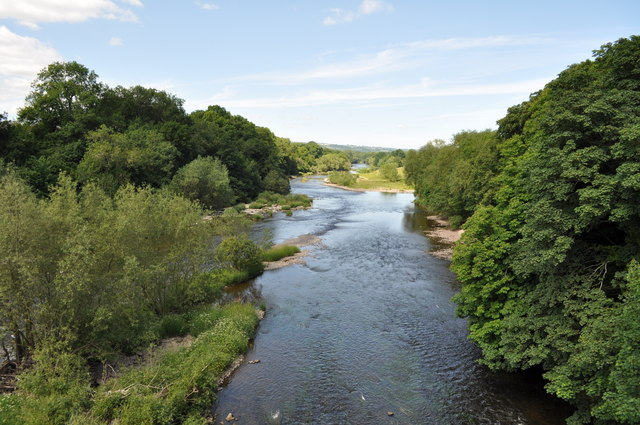 The River Wye at Hay-on-Wye