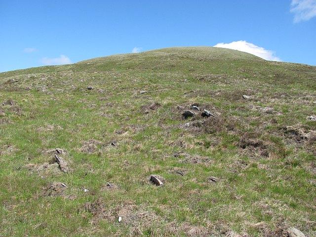 West ridge, Creag a' Chail