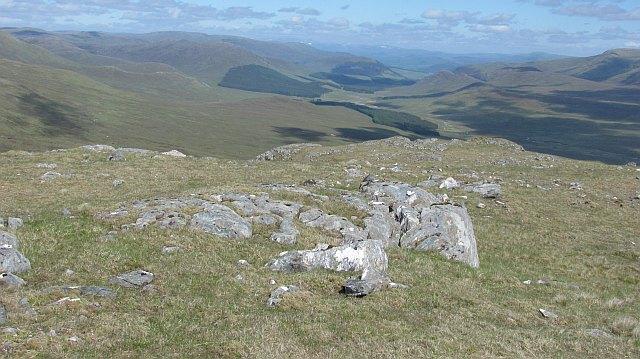 East ridge of Craig a' Chail