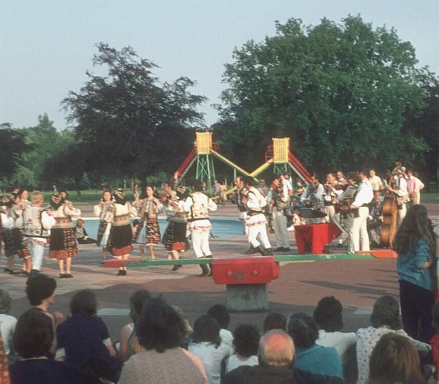 Memorial Park entertainment, 1975