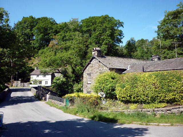 Cottages, Elterwater village