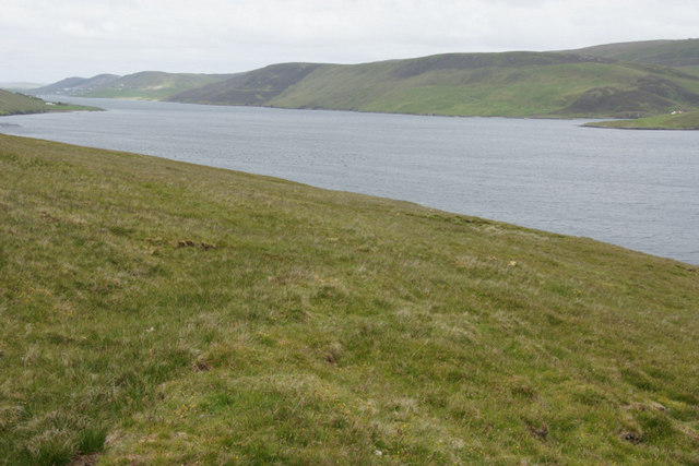 Clift Sound from Easter Heog, East Burra