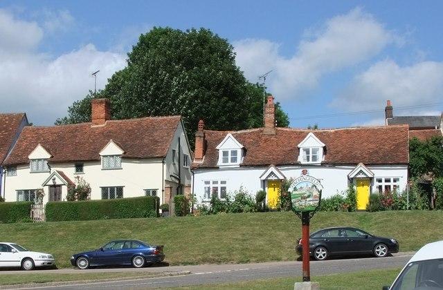 Village sign: Finchingfield