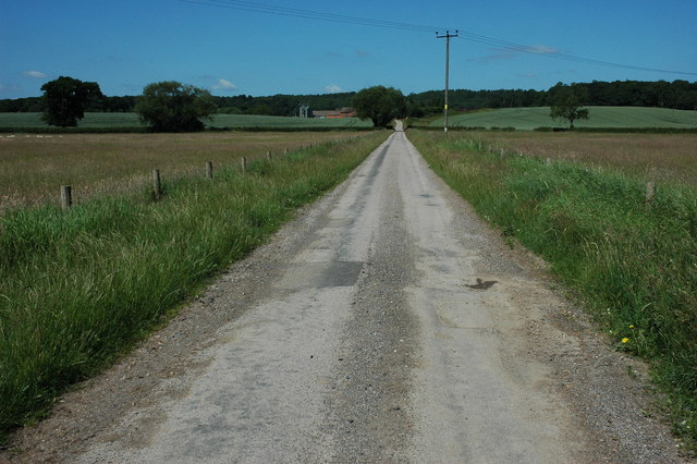 Driveway to Coldcomfort Farm