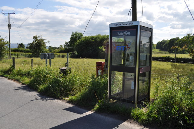 Telephone kiosk at Michaelchurch-on-Arrow
