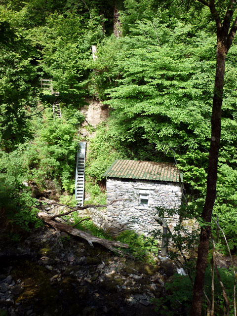 Small hydroelectric generator, Colwith Force