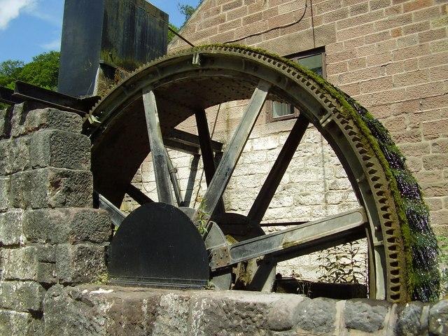 Waterwheel at Cromford