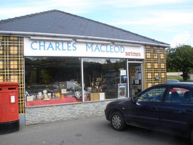 Butcher's shop Stornoway