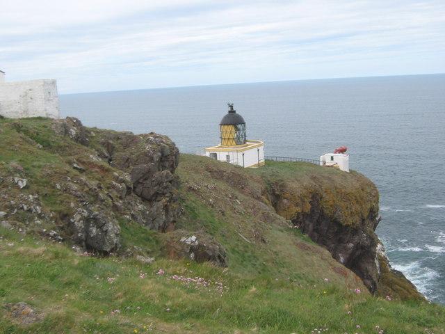 St Abb's lighthouse and foghorn