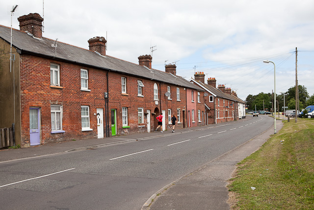 Victoria Cottages, along Christchurch Road, Moortown