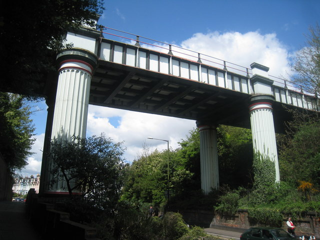 Railway Bridge over Queen's Road
