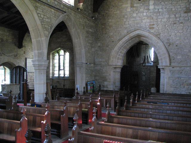 Sproxton: St Bartholomew - interior