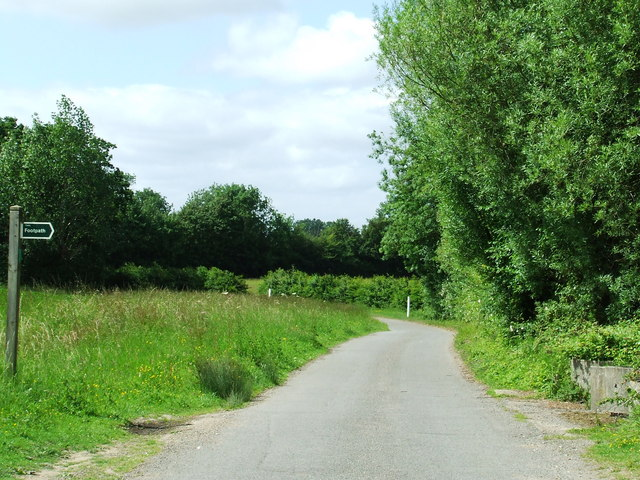 Footpath and Country Road