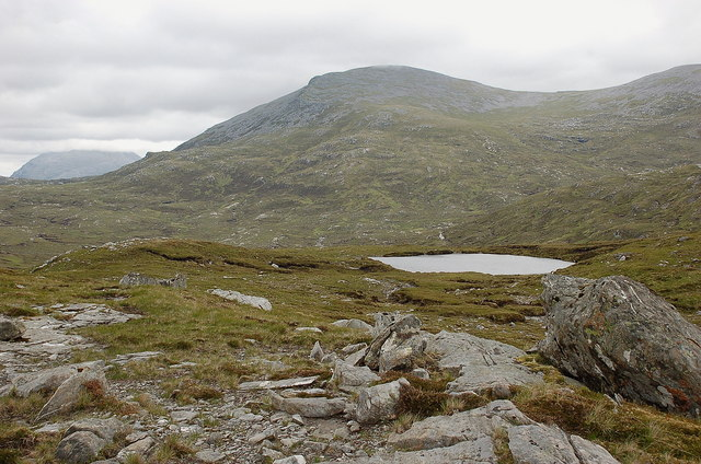 Meallan Liath Coire Mhic Dhugaill from the southeast