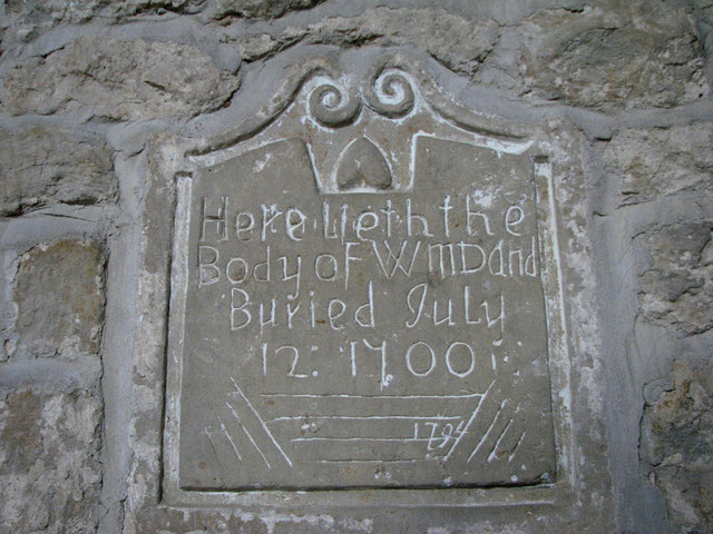 Monument in Sproxton Church