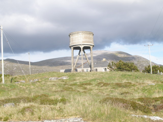 Water tower Leverburgh