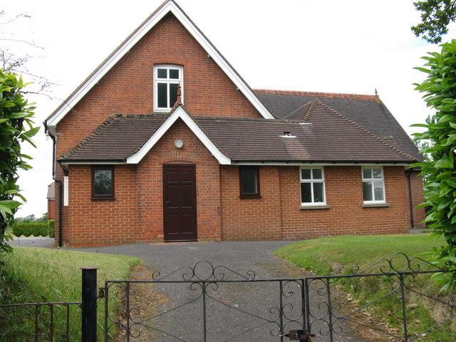 Halland Chapel on Lewes Road