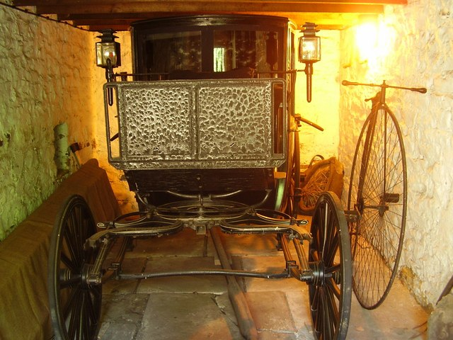Carriage at Abbeydale