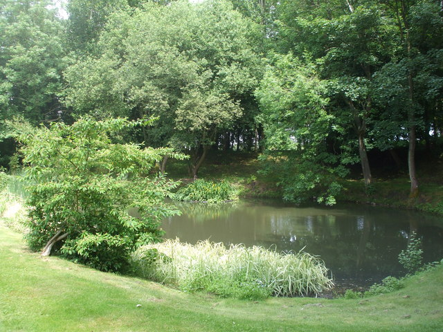 The pond, Farnborough