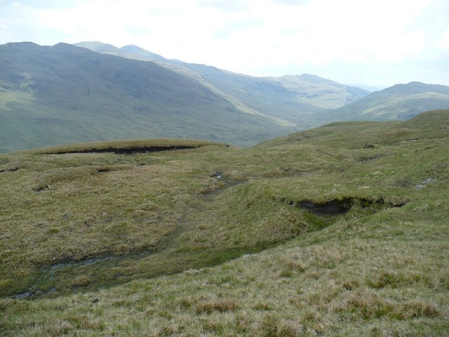 South side of Meall nan Tighearn