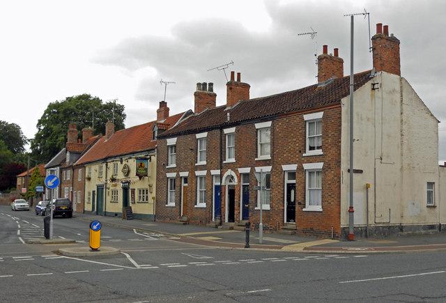 Houses on Whitecross Street