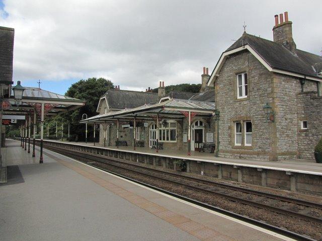 Grange - over - Sands Station