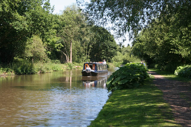 On the Trent and Mersey Canal
