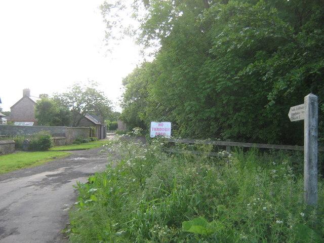 Public Bridleway at Haggerston
