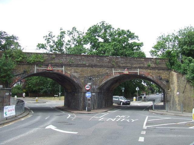 Railway arches, Thames Ditton