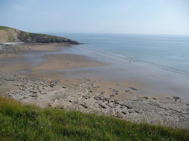 Dunraven Bay beach, Glamorgan Heritage Coast