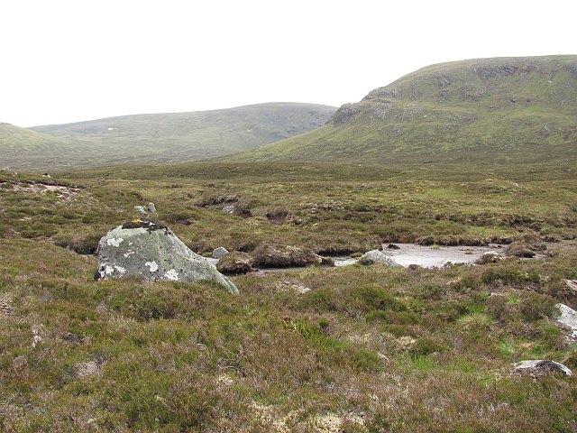 Bogs north of Creag Meagaidh