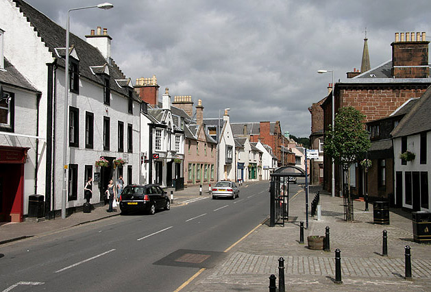 The main street in Newmilns