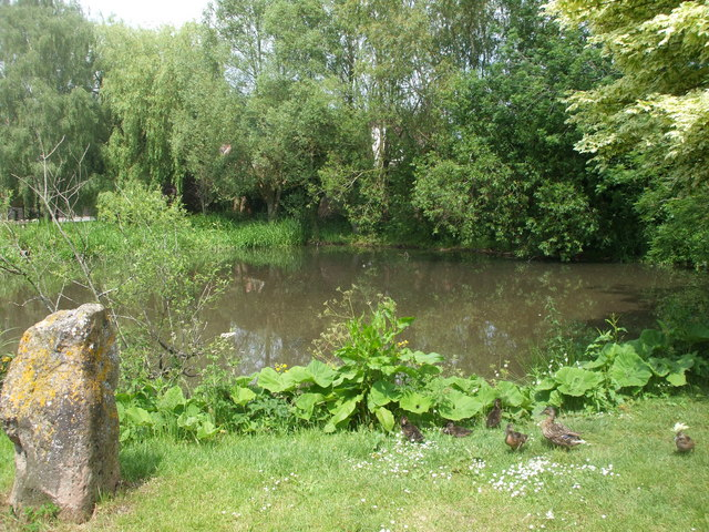 The pond, East Ilsley