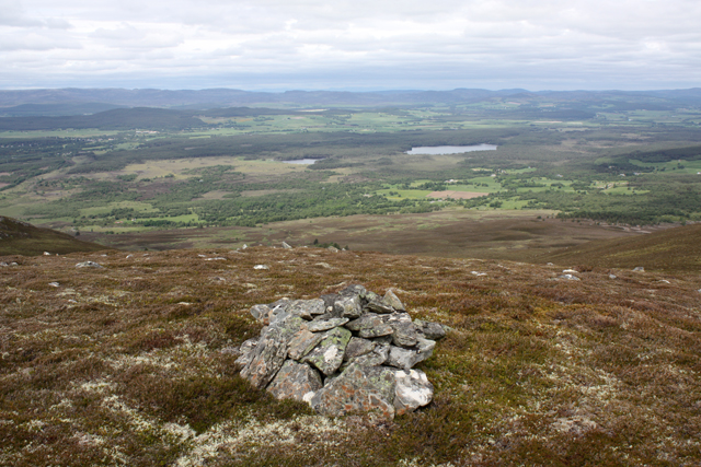 Small cairn on Creag a' Chaillich