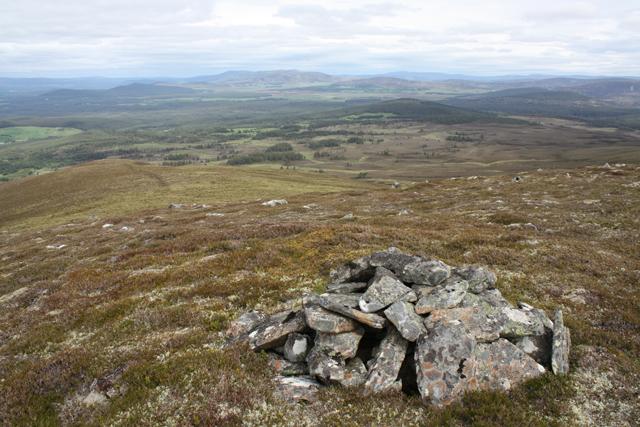 View NE from Creag a' Chaillich