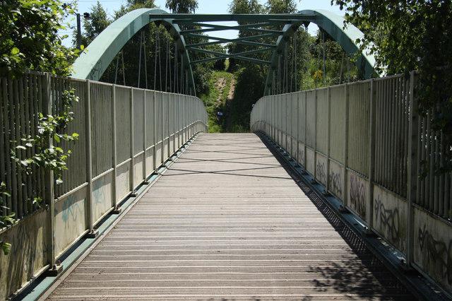 Beighton footbridge