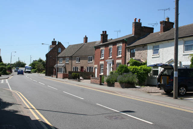 Houses on the Castle Way, Willington