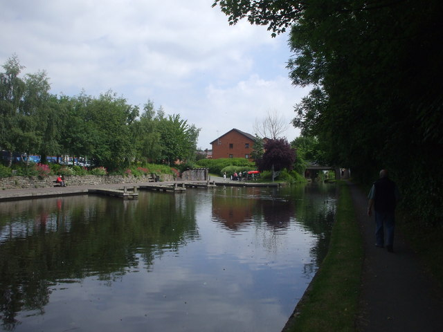 The Montgomery Canal, Welshpool