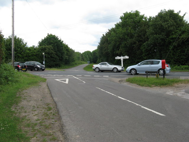 Crossroads on the A22