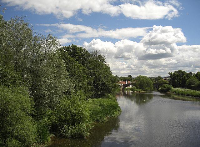 River Tyne from Victoria Bridge