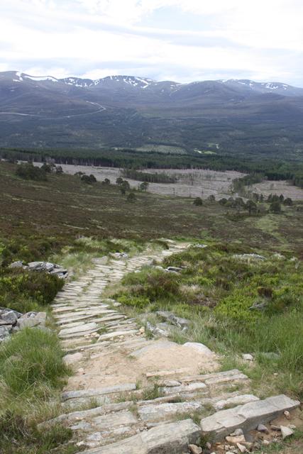 Path, Meall a' Bhuachaille