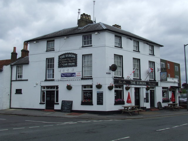 The Europa pub, East Molesey