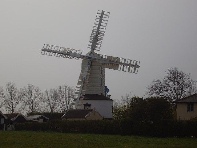 Saxtead Green Postmill