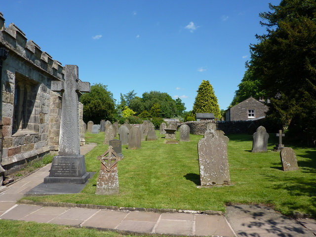 St Peter and St Paul's Church, Bolton-by-Bowland, Graveyard