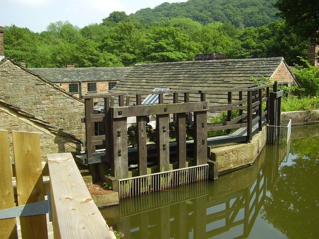 Sluice at Abbeydale Industrial Forge