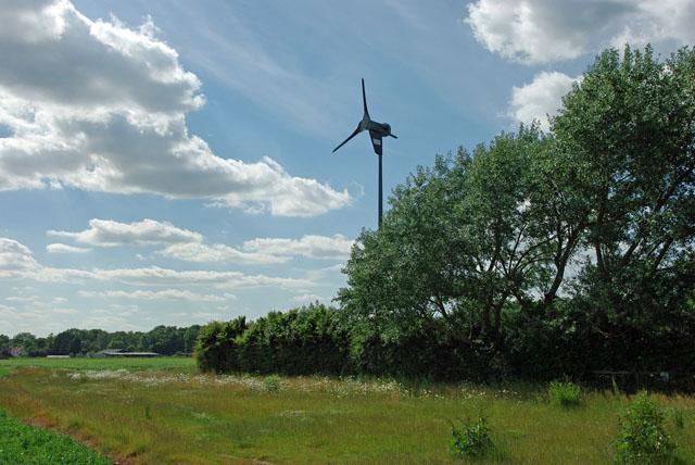 Wind turbine, Climping