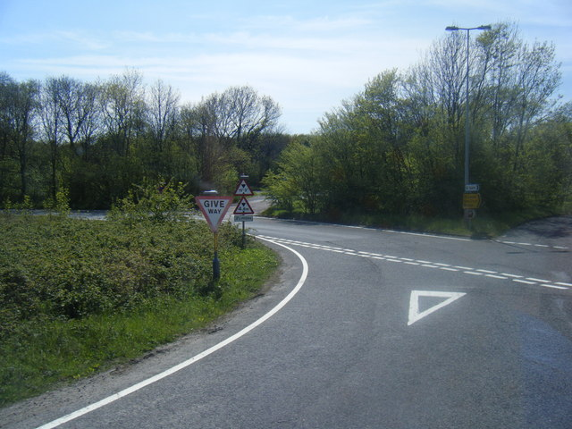 Lydden Hill at A2 junction