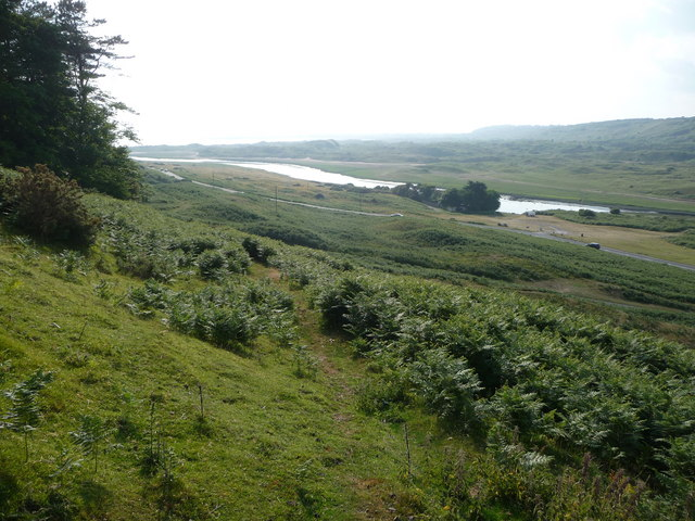 Valley of the River Ogmore near Ogmore-by-Sea